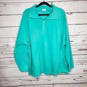 Columbia Half Zip Pullover Sweater 3X